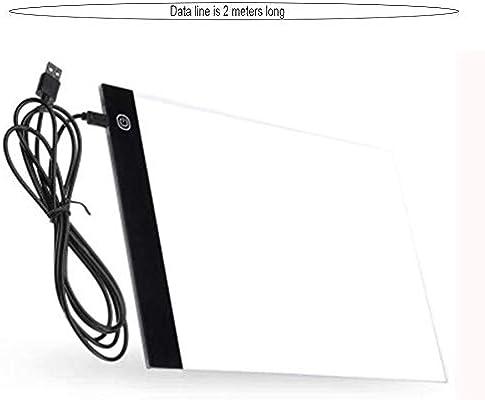 SZMH A4 Led Tableta de Dibujo Digital Graphics Pad USB Caja de luz ...