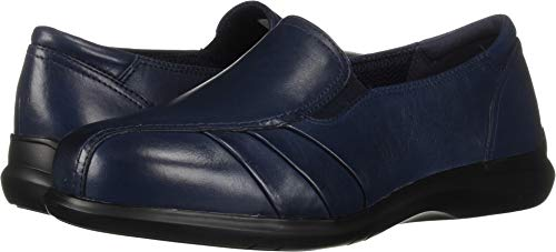 Aravon Women's Faith Loafer Flat, Blue, 5.5 D US