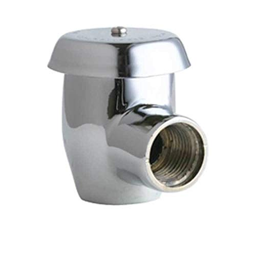 Chicago Angle Faucet - Chicago Faucet 892-ABCP Angle Vacuum Breaker 1/2