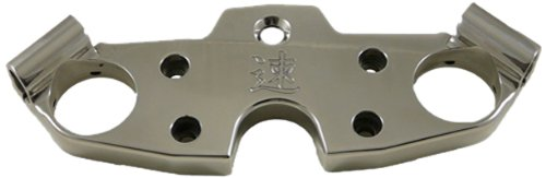 (Yana Shiki A4266 Polished Billet Aluminum Triple Tree Top Clamp for Suzuki GSX 1300R Hayabusa)