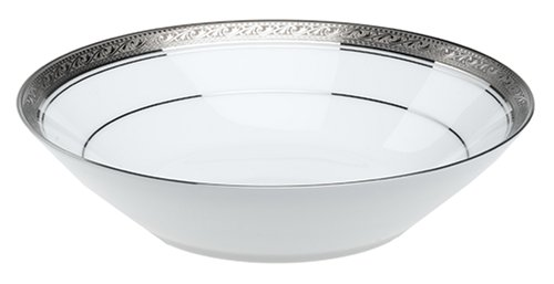 (Noritake Crestwood Platinum Soup Bowls, Set of 4)