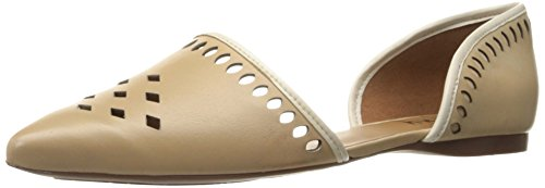 French Sole FS/NY Women's Vigor Pointed Toe Flat - Natura...