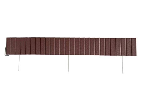 Landscape Edging - Cherrywood Flexible Poly Material - 4