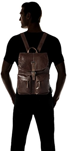 Spikes amp; Sparrow Backpack Zaini Unisex - Adulto Marrone dark Brown