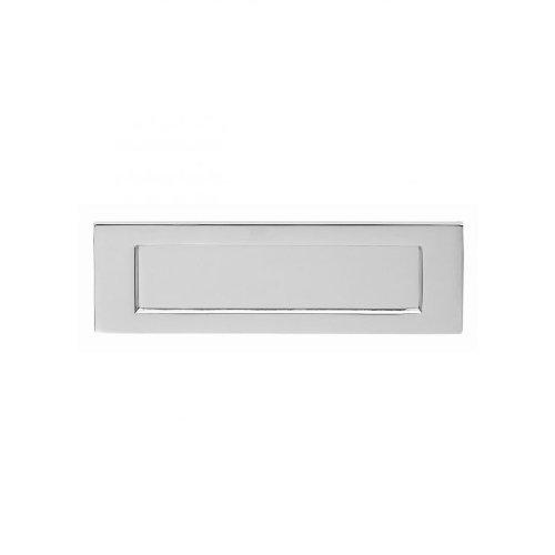 Carlisle Brass - M36HSC - CLASSICAL External Door Furniture PLAIN Letter plate - Finish - Satin Chrome (SC) by Carlisle Brass