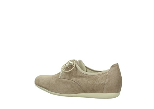Lace 20150 up Leather Shoes Wolky Taupe Comfort Stuart EwXqEU54