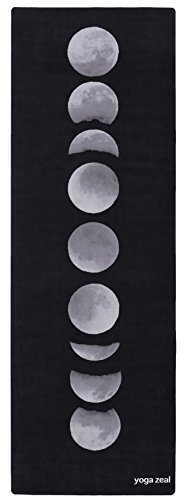 Yoga Mats by Yoga Zeal - Luxuriously Soft/Printed/Non-Slip/Hot Yoga Mat. Designed to grip better with a sweaty yoga practice!