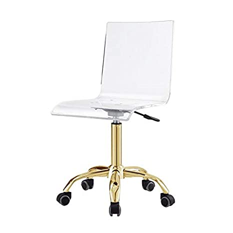 Excellent Amazon Com Briar Clear Acrylic Chair With Stainless Steel Ibusinesslaw Wood Chair Design Ideas Ibusinesslaworg