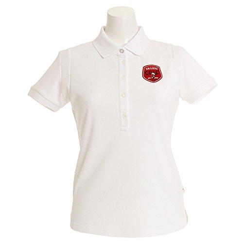 ポロシャツ レディース ジュン&ロペ JUN&ROPE 2018 春夏ゴルフウェア S(S) ホワイト(10) erm1805
