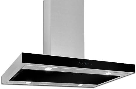 Campana extractora AKPO WK-9 FENIKS GLASS Negro / 60cm / 650-850 m3/h - Campana extractora de cocina: Amazon.es: Grandes electrodomésticos