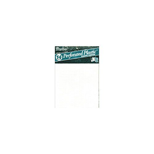[해외]천공 된 플라스틱 캔버스 14 Count 8.5 X11 2 / Pkg/Perforated Plastic Canvas 14 Count 8.5 X11  2/Pkg