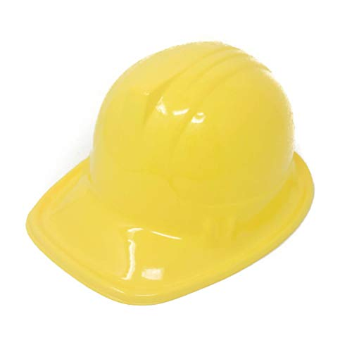 24 Pack Plastic Construction Hats for Kids - Construction Party Supplies -