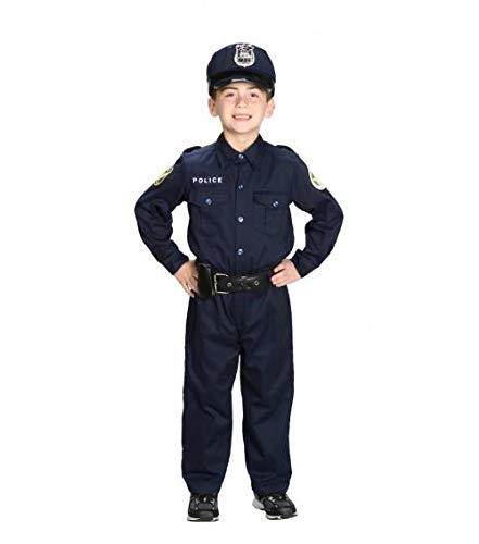 Jr Police Officer - Jr. Police Officer Suit w/Cap &