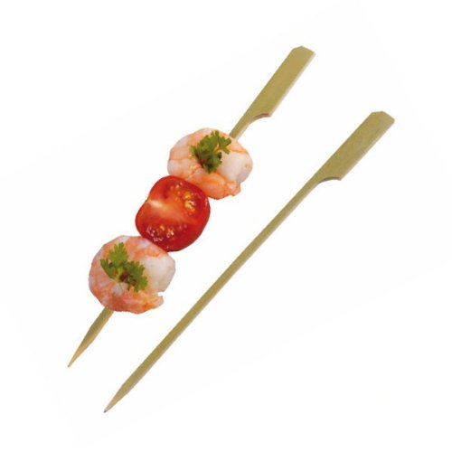 PacknWood Bamboo Paddle Pick Skewer, 3.5'' Length (Case of 2000) by PacknWood (Image #1)