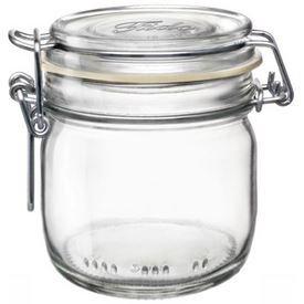 Bormioli Rocco Fido Clear Jar, 6.75 Oz.