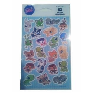 (Kid Squad Littlest Pet Shop 63 Stickers/autocollants)