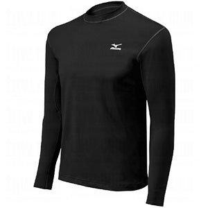 Mizuno Youth G2 Premier Stretch Sleeve Shirt (Black, X-Large)