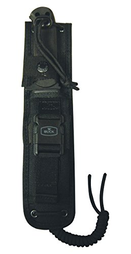 Buck-Knives-0822BKX-Sentry-Fixed-Blade-Tactical-Knife-with-MOLLE-Compatible-Sheath