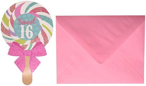 Amscan 490142 Invitations One Size Multicolor ()