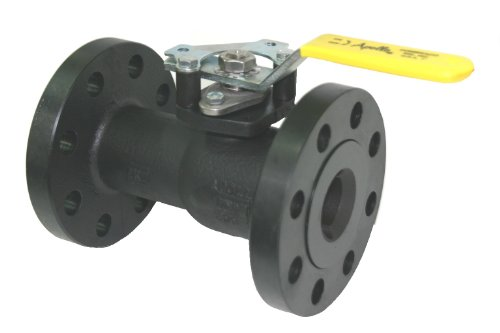 700 Series In Line Valve - Apollo 88A-700 Series Carbon Steel Ball Valve, Inline, Standard Port, Class 300, Handle Adapter, 6