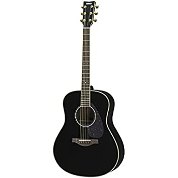 yamaha l series ll6 acoustic electric guitar roswewood black musical instruments. Black Bedroom Furniture Sets. Home Design Ideas
