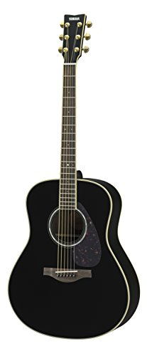 Yamaha L-Series LL6 Acoustic-Electric Guitar – Roswewood, Black
