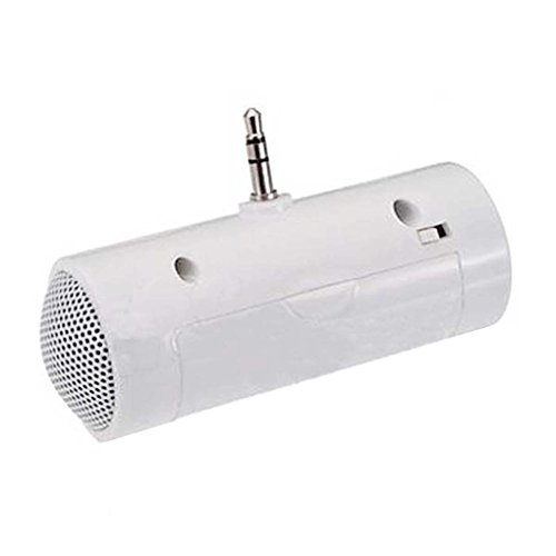 Tralntion 3.5mm Direct Insert Stereo Mini Speaker MP3 Music Player Loudspeaker for Mobile Phone Tablet PC