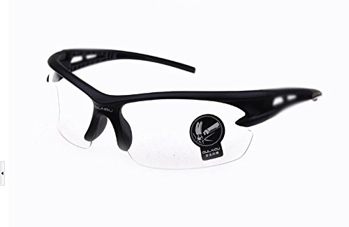 Riding Goggles Safety Eyewear Golf, Fishing, Cycling For Men Upgraded Design Clear Transparent Lens Fit For Honda VT250F SP Edition (FG FG-YA F2H) 1986 1987 - Eyewear Sp
