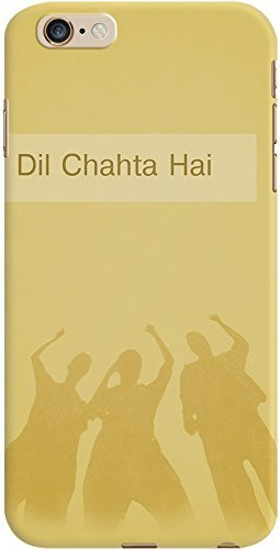 DailyObjects Dil Chahta Hai Case For iPhone 6 Plus Yellow