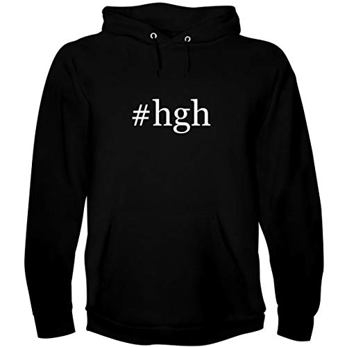 The Town Butler #HGH - Men's Hoodie Sweatshirt, Black, Medium