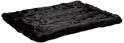 Favorite Pet Products Tiger Dreamz Luxury Bed 24 by 19, Panther Black