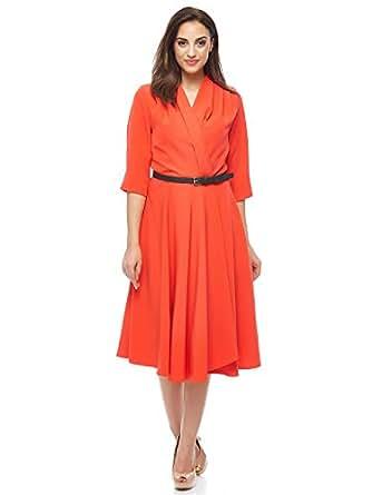 Valeria Sanoufi Casual Pleated Dress For Women
