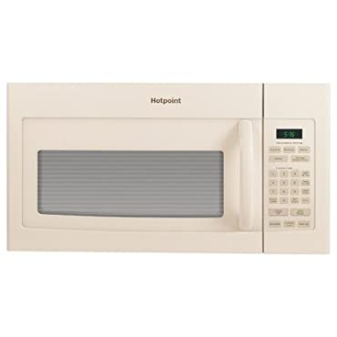 Hotpoint 1.6 cu. ft. Over the Range Microwave in Bisque (RVM5160DHCC)