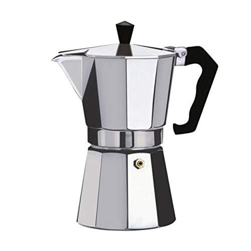 Ba30DEllylelly Cafetera Aluminio Mocha Espresso Percolador Olla Cafetera Moka Olla Espresso Shot Maker Espresso Machine