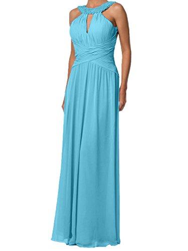 Blau Charmant Langes Promkleider Damen A Abendkleider Festlichkleider Rosa Abschlussballkleider Partykleider Linie qqF4vgw