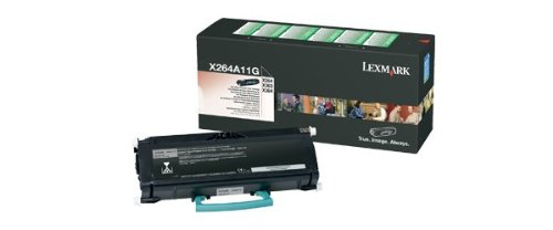 Lexmark X264A11G Return Program Black Toner Cartridge