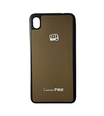 factory price cffd9 18889 Case Micromax Canvas Fire A104 Back Cover - Brown: Amazon.in ...