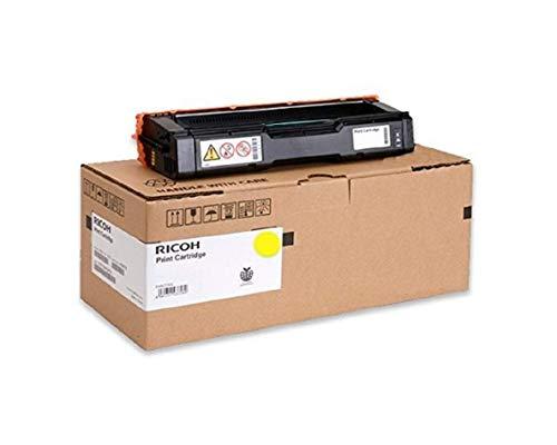 Ricoh 407542 SP250 Toner Cartridge - Yellow - 1 Pack in Retail Packing