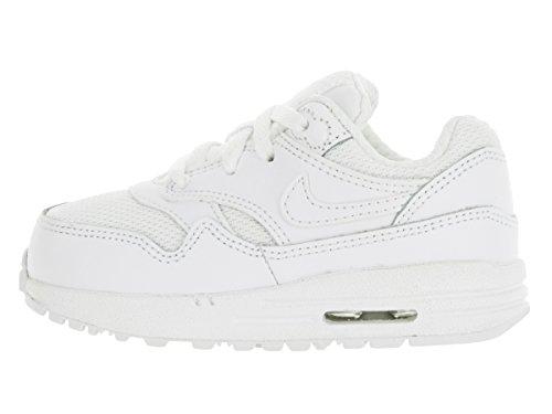 Los niños pequeños Nike Air Max 1 (td) zapatillas de running White/white