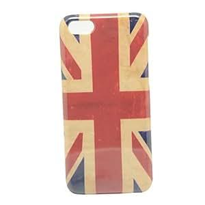 Patrón de la bandera británica retro IMD caso duro para el iPhone Craft 5C