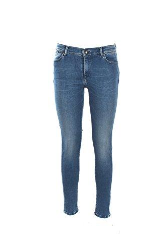0/ZERO CONSTRUCTION Jeans Donna 26 Denim Morea/2s Swc511 Autunno Inverno 2017/18