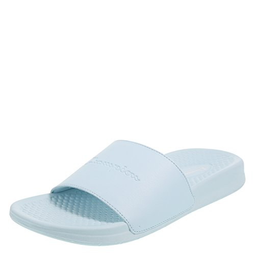 Champion Mint Blue Women's Slide Sandal 10 Regular (Champion Flats)