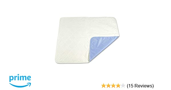 Amazon.com: Nobles Reusable/Washable Bed Pad Extra Absorbent Soaker 34X35: Health & Personal Care