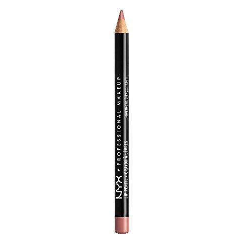 NYX PROFESSIONAL MAKEUP Slim Lip Pencil, Nude Pink, 0.03 Ounce