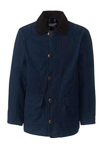 Lands' End Men's Barn Coat, L, Classic -