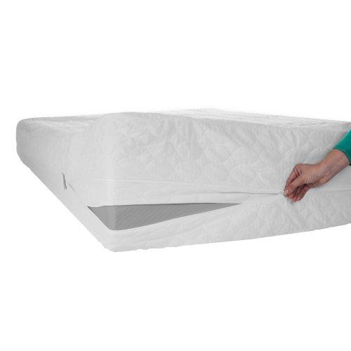 Zen Master Bed Bug Dust Mite Cotton Mattress Protector, King