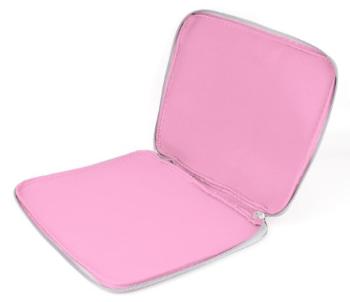 Pink 'Travel' Sleeve Case in Shock-Absorbing & Water-Resistant Neoprene for The Lenovo Miix 520 - by DURAGDGET by DURAGADGET (Image #2)