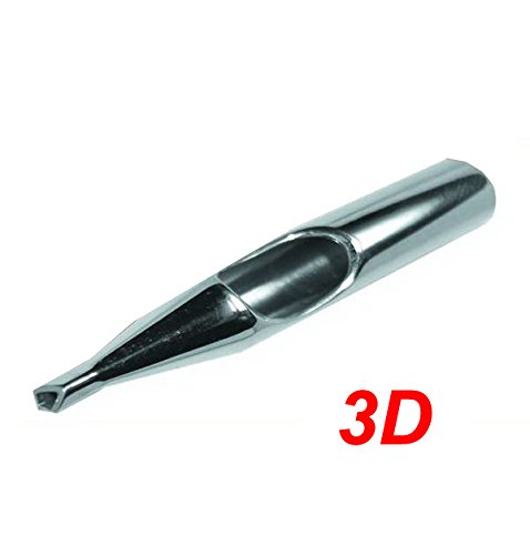 Diamond Stainless Steel Tattoo Tip Nozzle (3D) Devils Needle