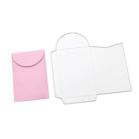 Umschlag Metall Stanzformen DIY Scrapbooking Prägung Schablone für die