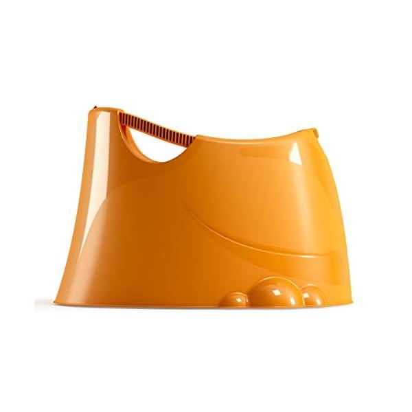 OKBABY Oplà 38134530 Vaschetta per il Bagnetto del Neonato, 12-36 Mesi, Arancione 3